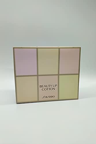 Japan Beauty Up Cotton, algodones de limpieza de 55 x 70 mm, paquete de 108 algodones ultra suaves, sin pelusa, para maquillaje facial, artículos de tocador cosméticos japoneses, fabricado en Japón