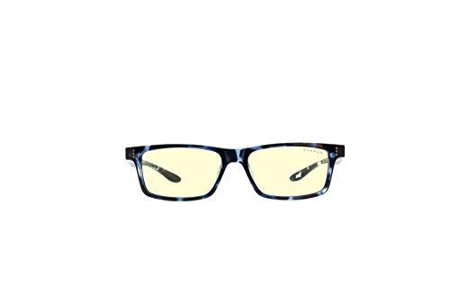 Gunnar Gaming and Computer Eyewear   Cruz Kids Large (age 8-12)   Navy-tortoise frame, Amber Tint   Patented lens, 65% Blue Light Protection, 100% UV Light   Reduce Eye Strain & Dryness