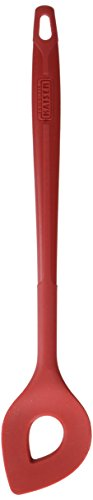 Kaiser Backlöffel, 30 x 5,5 x cm Kaiserflex Red 100% lebensmittelechtes Silikon mit Metallkern spülmaschinengeeignethohe Formstabilität und Flexibilität