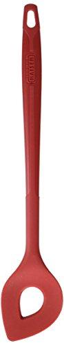 Kaiser Kaiserflex Red Backlöffel 30 x 5,5 x cm, Rührlöffel, 100% Silikon, Metallkern, spülmaschinengeeignet, hitzebeständig