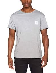 Cheap Monday Standard Edge Tee T-Shirt, Grigio (Melange Caldo), XS Uomo