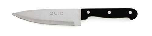 Quid 7444031 – Couteau Cuisine 15 cm Kitchen Chef, Couleur Noir, 34.5 x 5.5 x 1.5 cm