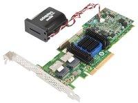 Adaptec 6805TQ–RAID-Controller (SAS, SATA, PCI Express x8, Half-Height (Low-Profile), 0, 1, 5, 6, 10, 50, 60, 1e, 5EE, 512MB, DDR2)