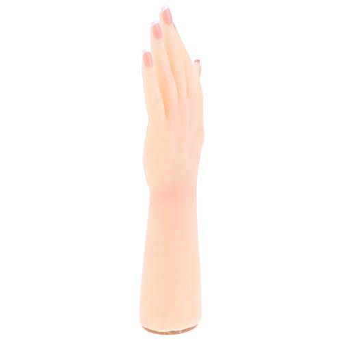 Sharplace 1: 1 Silicon Gel Weibliches Handmodell Art Practice Schmuckständer Links