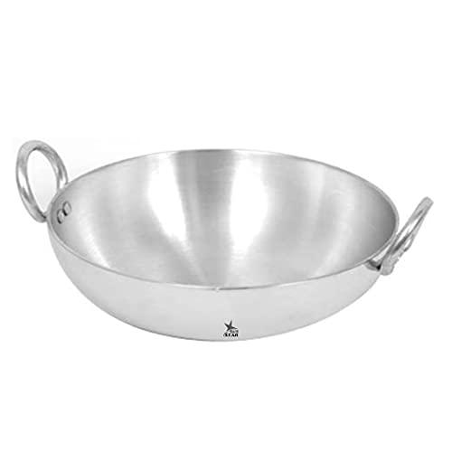 Nutristar Deep Frying Pan Aluminium Kadai, 2500 ml