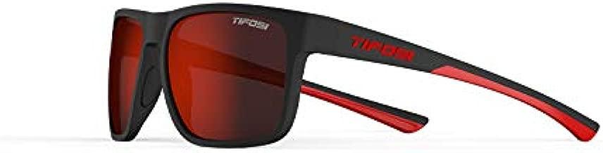 Tifosi Optics Swick Sunglasses (Satin Black-Crimson/Smoke Red Lenses)