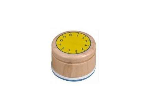 Coppenrath 11554 - Stempel Lern die Uhr Bunte Geschenke