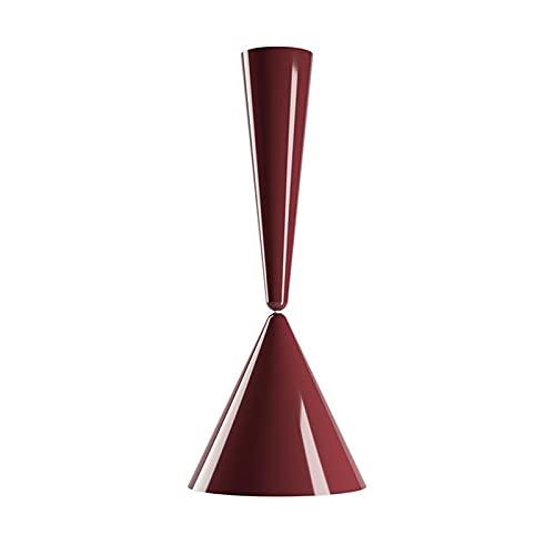 Flos Diabolo - Lámpara cónica de techo diseñada por Achille Castiglioni - Cherry Red