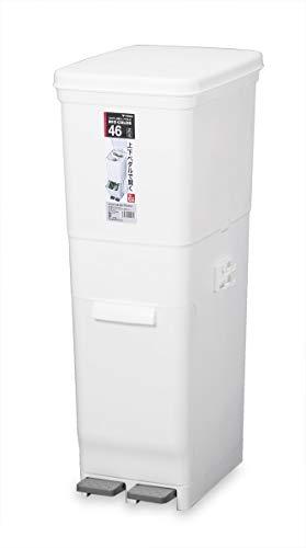 新輝合成『フタ付きゴミ箱ツインWH45L』