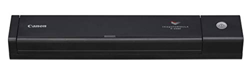 Canon imageFORMULA P-208II Scan-tini Personal Document Scanner, Black (9704B007)