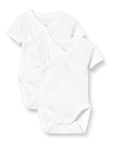 Petit Bateau 5422000 Conjunto de Ropa Interior para bebés y niños pequeños, Blanco Blanco, 6 Meses