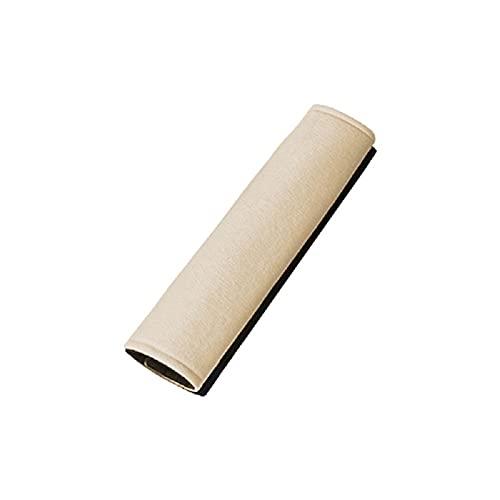 Funda protectora del cinturón de seguridad del automóvil Cuatro estaciones Hombros del automóvil Moda resistente al desgaste Hombros del automóvil Productos para el interior del automóvil(Color crema)