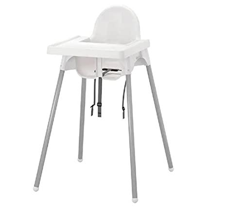 IKEA Antilop Trona con Bandeja, Blanco (5)