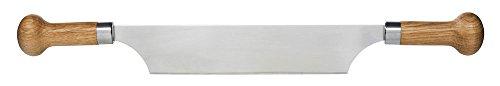 Sagaform 5015337 Huile/Vinaigre avec bouchons en chêne, 2-pack Couteau à fromage à deux manches n/a