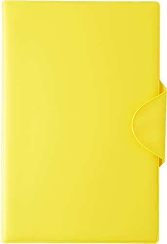 スリップオン 日本製 お薬手帳 母子手帳ケース(Sサイズ・A6) SPM PVC イエロー SPM-1802