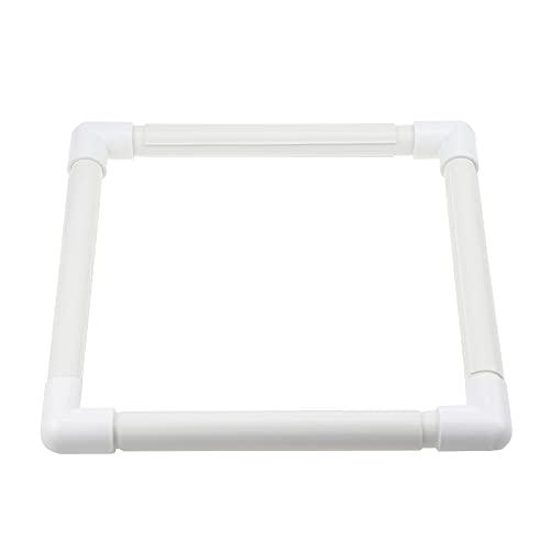 PLCatis Marcos de Punto de Cruz de Plástico 28 * 28 cm...