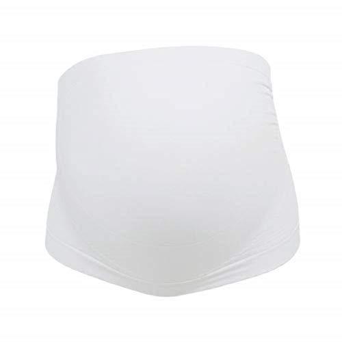 Stützende Bauchbinde für die Schwangerschaft - weiß, Größe M