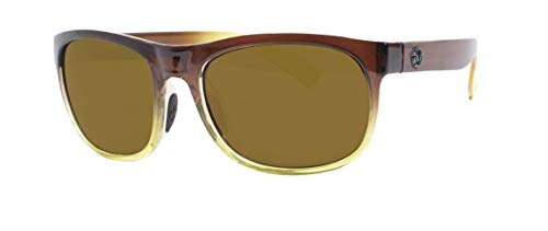 Unsinkable Polarized Unisex Nomad floating polarized sunglasses, Caramel Fade