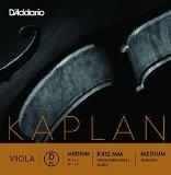 D'Addario Kaplan. Juego de cuerdas para viola, escala media, tensión media