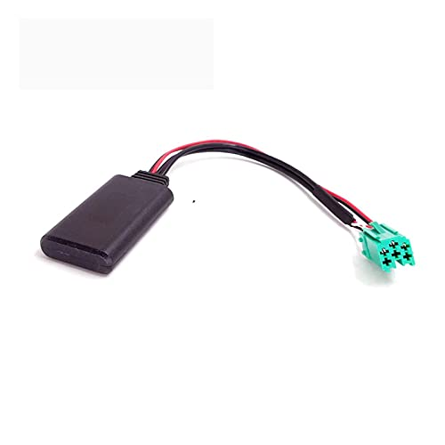 Development Cable Bluetooth Módulo Aux Adaptador Cable Adaptador para Renault Megane Laguna Clio Espace 2005 a 2011 Modelos de actualización Radio