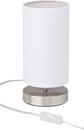 Brilliant AG 13247/05 Lampe à poser, Métal, E14, 40 W, Transparent