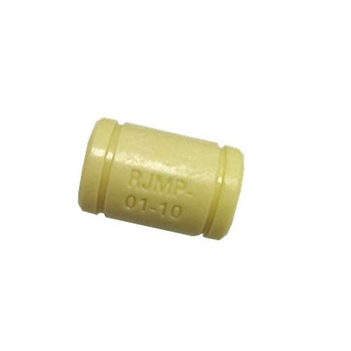 Printer Accessories 3D Printer Solid Polymer Bearing RJMP-01-06 RJMP-01-08 RJMP-01-10 RJMP-01-12 Plastic Linear Bearings for 3D Printer Parts 3D Printer Parts (Color : 8pcs, Size : RJMP 01 12)