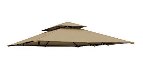 paramondo paratenda Ersatzdach für Comfort Gartenpavillon 4 x 3 m, beige