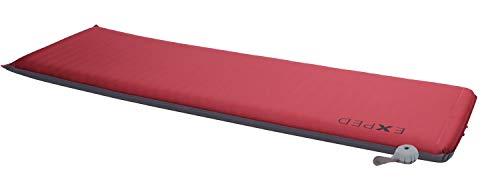 Exped SIM Comfort 7.5 LW Grau-Rot, Schaumstoff-Isomatte, Größe 197 cm - Farbe Rot - Grau