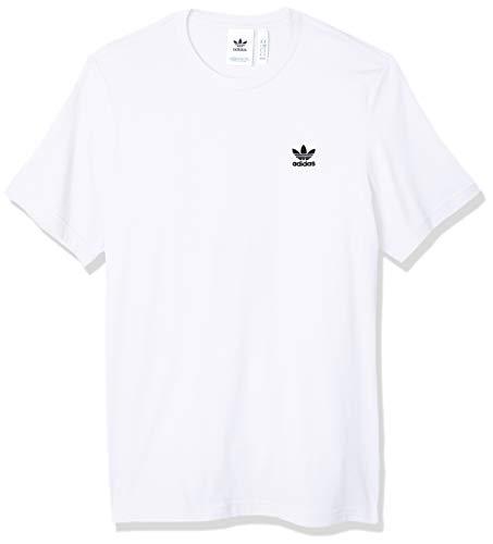 adidas Mens Essential T-Shirt, White, S