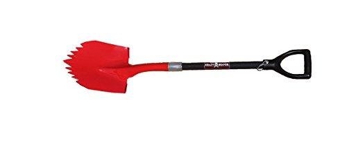 Super Shovel by Krazy Beaver  Heavy Duty Spiked Shovel  Tempered Steel  American Made Black Edition