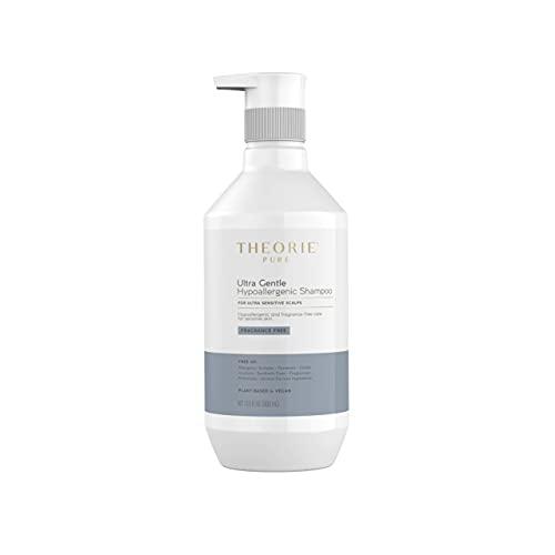 Theorie: PURE Ultra Gentle Hypoallergenic Shampoo – Fragrance Free – Vegan, Plant-Based Shampoo for Ultra Sensitive Skin 400ml's - 13.5 oz (400 mL / 13.5 Fl Oz)