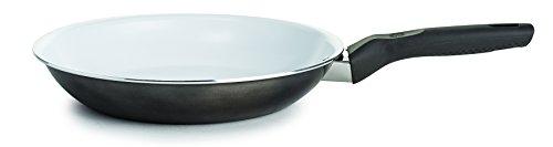"Ecolution EBMMW-5124 Bliss Ceramic Induction Cookware, 9.5"", Gunmetal Gray"