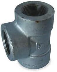 Tee Max Bargain 45% OFF 3 8 in Galvanized Iron WOG 3000 PSI