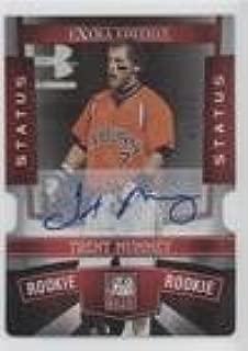 Trent Mummey #/50 (Baseball Card) 2010 Donruss Elite Extra Edition - [Base] - Status Red Die-Cut Signatures [Autographed] #149