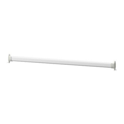 Barra para colgar ropa Stuva Grundlid de IKEA, de color blanco