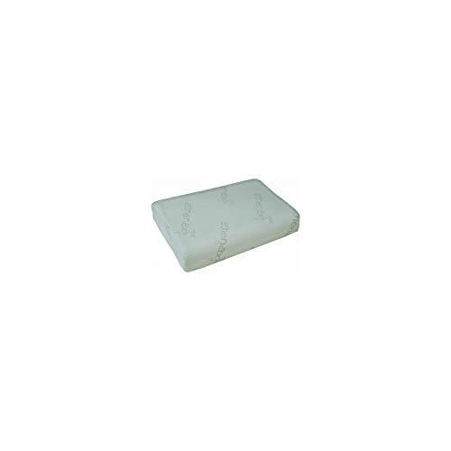 Queraltó QMD-00008/35 - Almohada viscolástica visco plus, 55 x 37 cm, 55 kg/m3