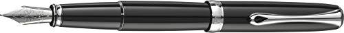 DIPLOMAT - Füllhalter Excellence A2 Lack schwarz - Schick und elegant - Lange Lebensdauer - Schwarz