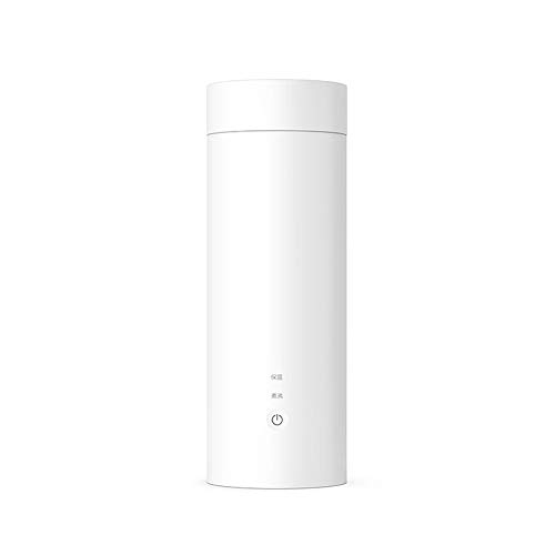 MIJIA Taza de Botella electrica ZEYUE, Taza termica de calefaccion portatil de 400 ml para te, cafe, Leche en Polvo, hervidor de Agua para Viajes