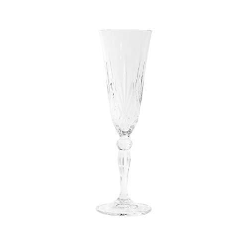BUTLERS CRYSTAL CLUB Champagnerglas 6er-Set