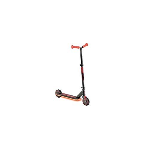 Mondo Toys Y-Volution -Neon Viper Monopattino luce LED - 2 Ruote in PU e manopole TPR - Freno di Sicurezza Posteriore - Colore rosso - 25333