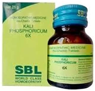 (Pack of 2) SBL Kali PHOSPHORICUM 6X 25g New