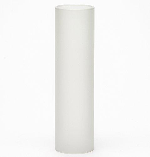 Delite Glaszylinder mattiert, hitzebeständig, Höhe 140 mm, Außendurchmesser 41,8 mm, für Petroleumlampe Ship's Lamp und andere Lampen
