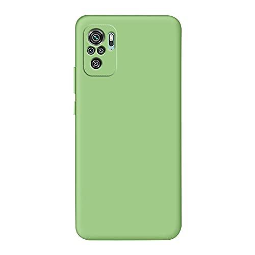 Xiaomi Redmi Note 10 Pro用 シンプル ケース/カバー TPU 耐衝撃 シャオミ 小米 リドミーノート10 プロ 頑丈ケース/カバー ケース おしゃれ スマートフォン/スマフォ/スマホケース/カバー(グリーン)
