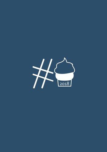 dicker TageBuch Kalender 2018 #Cupcake: Endlich genug Platz für dein Leben! 365 Tage = 365 A4-Seiten