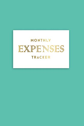 Monthly Expenses Tracker: Spending tracker with finance goals on reverse pages – Cockatoo