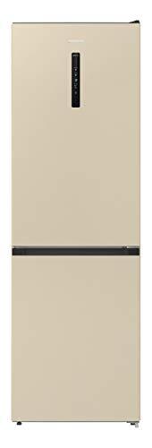Gorenje NRK 6192 AC4 - Frigorífico y congelador (185 cm, 302 L, sistema de flujo de aire, clase A+), color beige claro