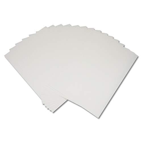 5 Blatt A4 Waterslide Decal Paper Clear Water Slide Transferpapier personalisierbar DIY Custom Bedruckbare Wasserschieber Aufkleber für Tintenstrahldrucker (5 Blatt)