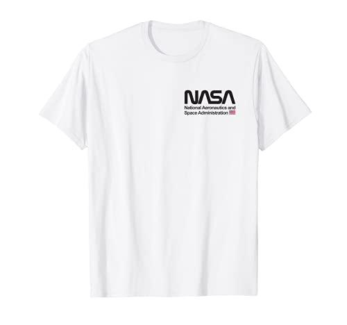 NASA Shirt, Chest Worm Logo Insignia Symbol Graphic Maglietta