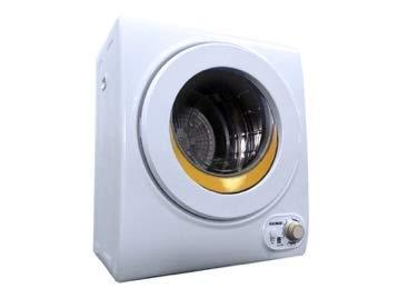 SOLOROCK 110V Compact Laundry Dryer White (2.5 kg 5.5 LBS 1.65 cb.ft.) (Orange Crescent)