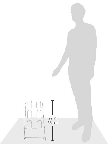 パール金属『ワイヤースリッパラック3段(N-9122)』